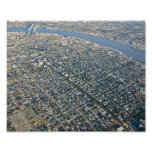 Aerial New Orleans Garden District Photographic Print