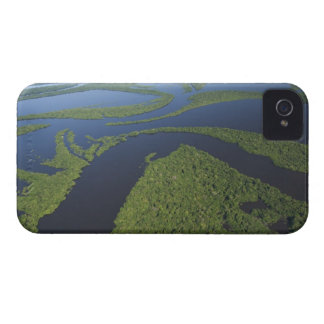 Aerial of Anavilhanas Archipelago, Flooded iPhone 4 Covers