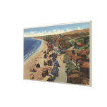Aerial of Crystal Cove Canvas Print
