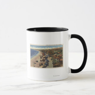 Aerial of Crystal Cove Mug