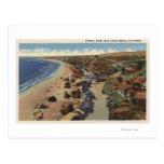 Aerial of Crystal Cove Postcard