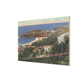 Aerial of Emerald Bay Canvas Print