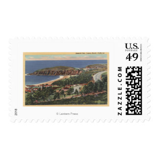 Aerial of Emerald Bay Postage Stamp
