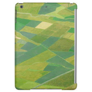 Aerial Of Farmlands In Ethiopia Cover For iPad Air