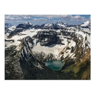 Aerial Of Warderman Lake Postcard