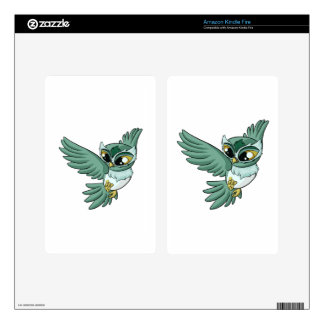 Aerial Owl! Decals For Kindle Fire