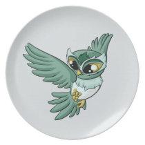 Aerial Owl! Plate