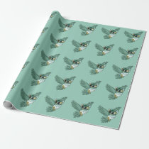 Aerial Owl! Wrapping Paper