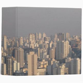 Aerial Panoramic - Sao Paulo 3 Ring Binder