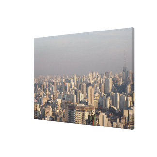 Aerial Panoramic - Sao Paulo Canvas Print