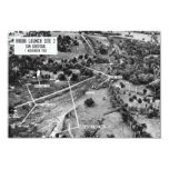 Aerial Photograph of Missiles in Cuba 1962 Personalized Announcement