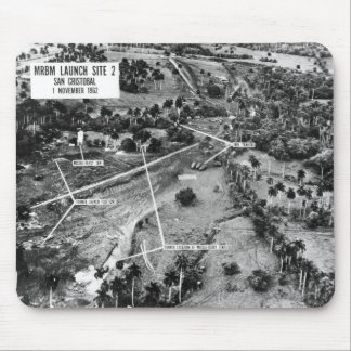 Aerial Photograph of Missiles in Cuba 1962 Mouse Pad