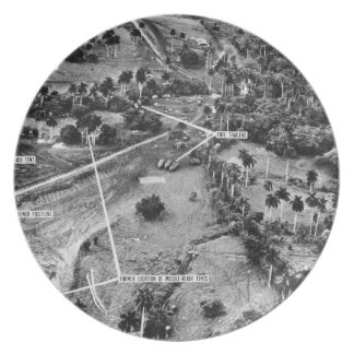 Aerial Photograph of Missiles in Cuba 1962 Plates