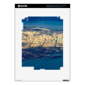 Aerial photograph of the San Francisco Bay Decals For iPad 3
