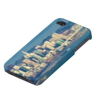 Aerial photograph of the San Francisco Bay Cover For iPhone 4