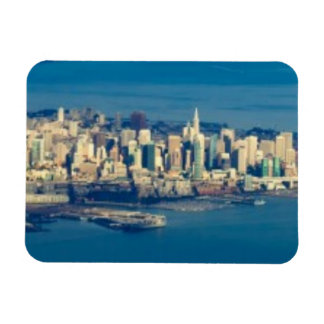 Aerial photograph of the San Francisco Bay Magnet