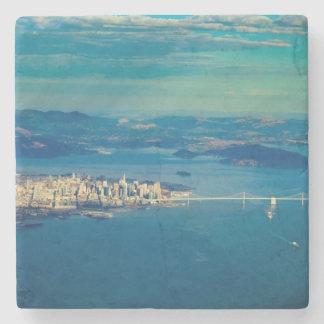 Aerial photograph of the San Francisco Bay Stone Coaster