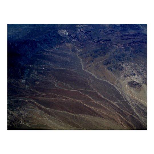 Aerial Photography Art Postcard