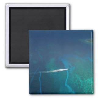Aerial Photography of the Maldives Fridge Magnets