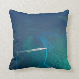 Aerial Photography of the Maldives Pillows