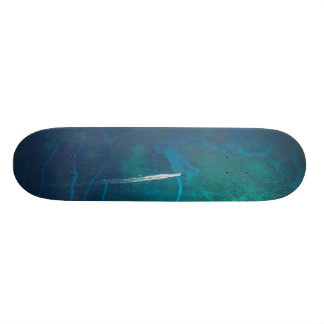 Aerial Photography of the Maldives Skate Deck