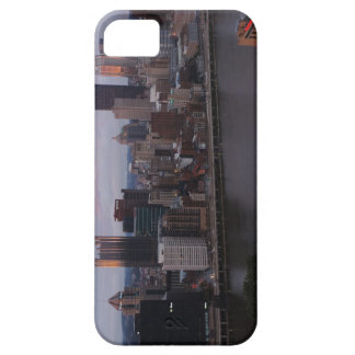 Aerial Pittsburgh Skyline at sunset iPhone 5 Case