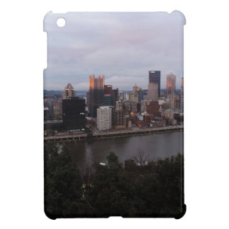 Aerial Pittsburgh Skyline at Sunset iPad Mini Cover