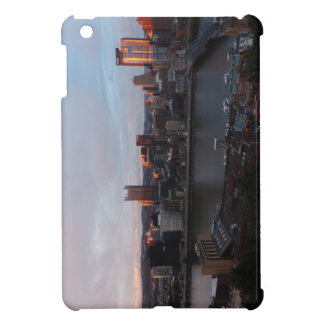 Aerial Pittsburgh Skyline at sunset Cover For The iPad Mini