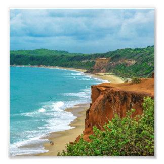 Aerial Seascape Scene Pipa Brazil Photo Print