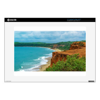 "Aerial Seascape Scene Pipa Brazil Skin For 15"" Laptop"