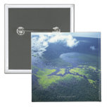 Aerial shot of Amazon forest 2 Inch Square Button