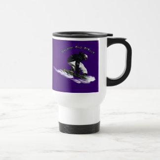 AERIAL SNOW BOARDER Series Coffee Mug