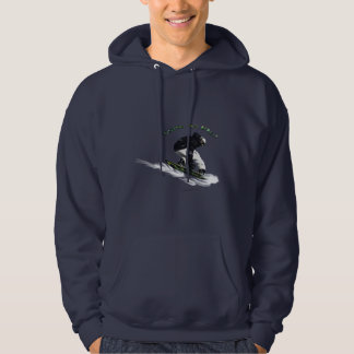 AERIAL SNOW BOARDER Series Hoodie