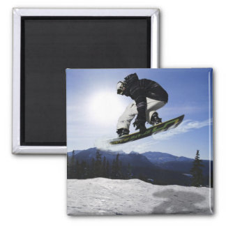 AERIAL SNOW BOARDER Series Magnet