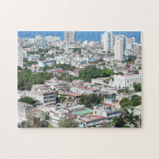 Aerial View, City of Havana, Cuba Jigsaw Puzzle