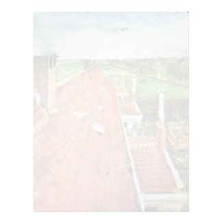 Aerial View From Above Of The Studio Of Van Gogh Personalized Letterhead