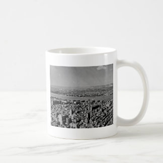 Aerial View from the Empire State Building Vintage Coffee Mug