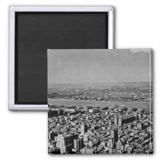 Aerial View from the Empire State Building Vintage Magnet