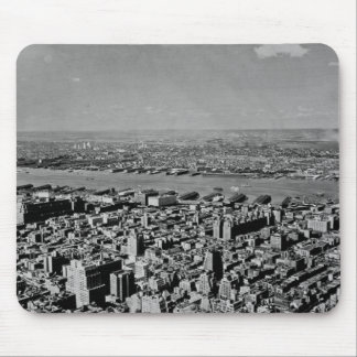 Aerial View from the Empire State Building Vintage Mouse Pad
