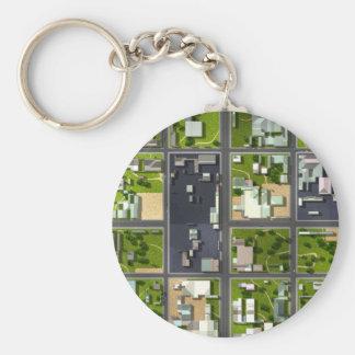 Aerial View - Keychain