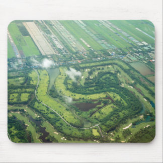 Aerial view - landing approach on Thailand Mouse Pad