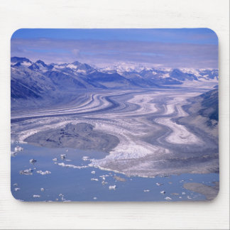 Aerial view Lowell Glacier, Kluane National Mouse Pad