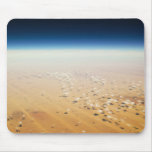 Aerial view of a desert mouse pads