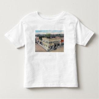 Aerial View of a Hanford Street Corner Toddler T-shirt