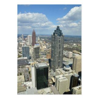 Aerial View of Atlanta, Georgia Large Business Cards (Pack Of 100)