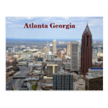 atlanta, georgia, aerial, view, cityscape,