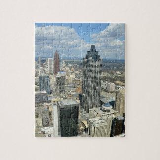 Aerial View of Atlanta, Georgia Puzzle