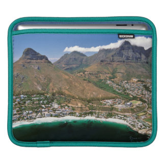 Aerial View Of Atlantic Seaboard Showing Clifton iPad Sleeve