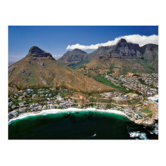 Aerial View Of Atlantic Seaboard Showing Clifton Postcard