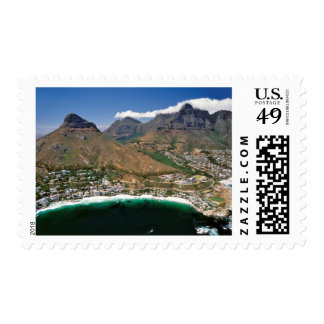 Aerial View Of Atlantic Seaboard Showing Clifton Stamp